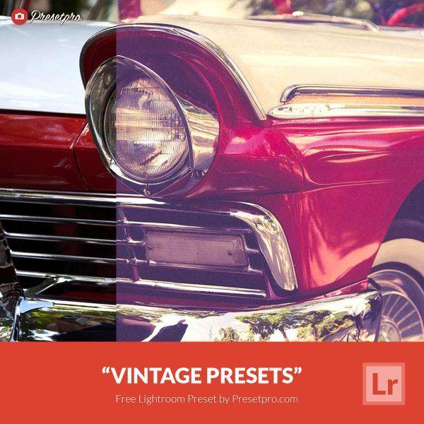 Free-Lightroom-Preset-Vintage-Presets