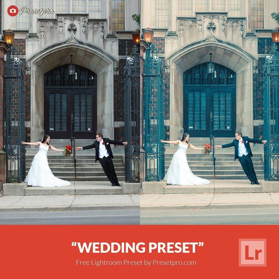 free lightroom preset wedding download now