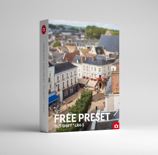 Free Lightroom Preset Tilt Shift