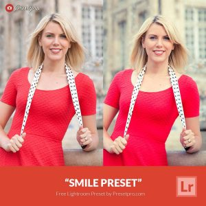 Free Lightroom Preset Smile