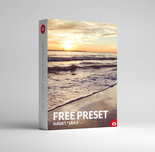 Free Lightroom Preset Sunset