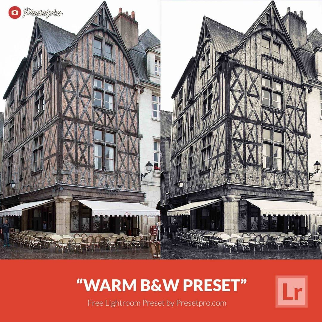 Free Lightroom Preset Warm Black & White - Download Now!