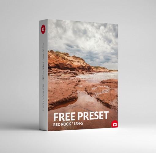 Free Lightroom Preset Red Rock