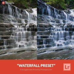 Free Lightroom Preset Waterfall