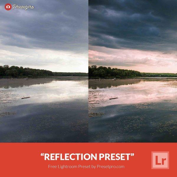 Free Lightroom Preset Reflection