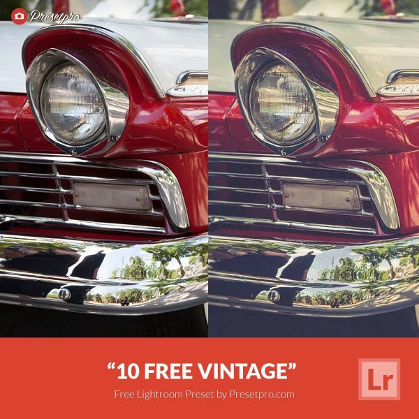 10 Free Vintage Lightroom Presets