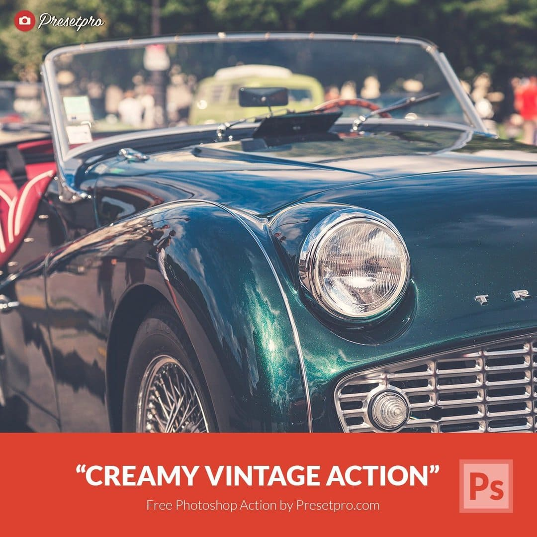 Free Photoshop Action Creamy Vintage - Download Now!