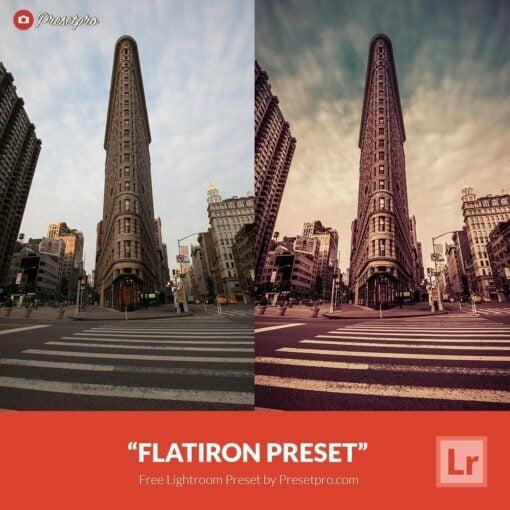 Free Lightroom Preset Flatiron