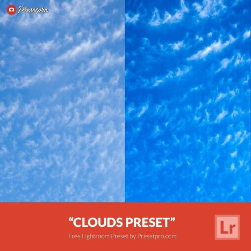 Free Lightroom Preset Clouds
