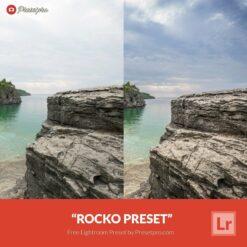 Free Lightroom Preset Rocko