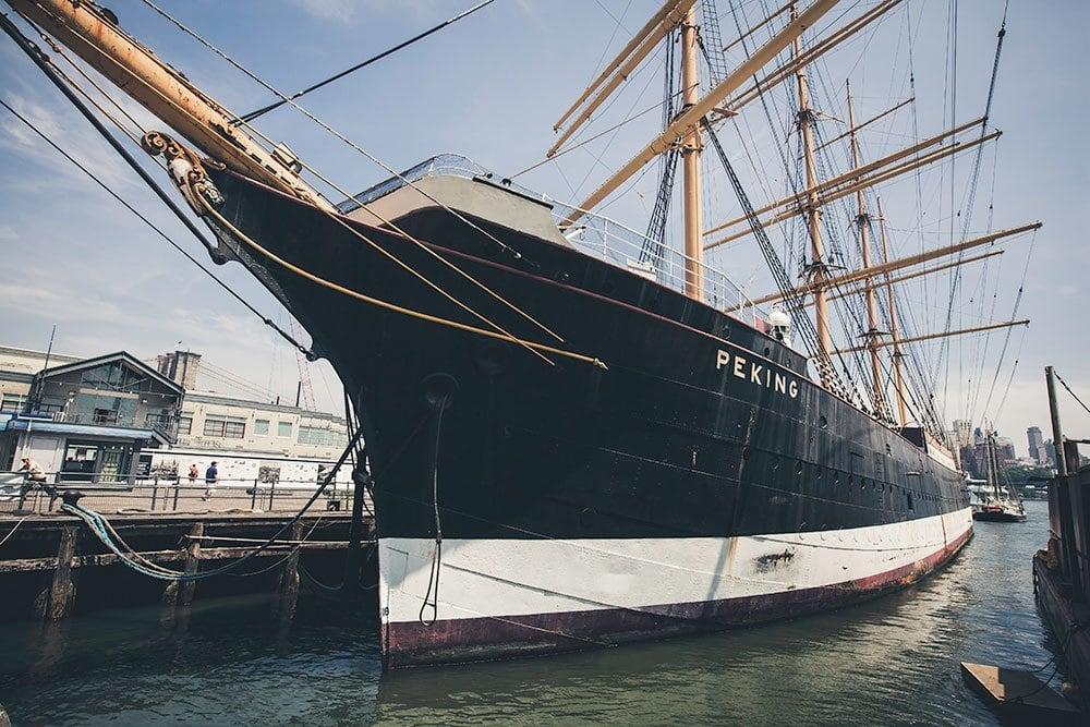 Free Lightroom Preset Tall Ships