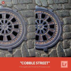 Free Lightroom Preset Cobble Street