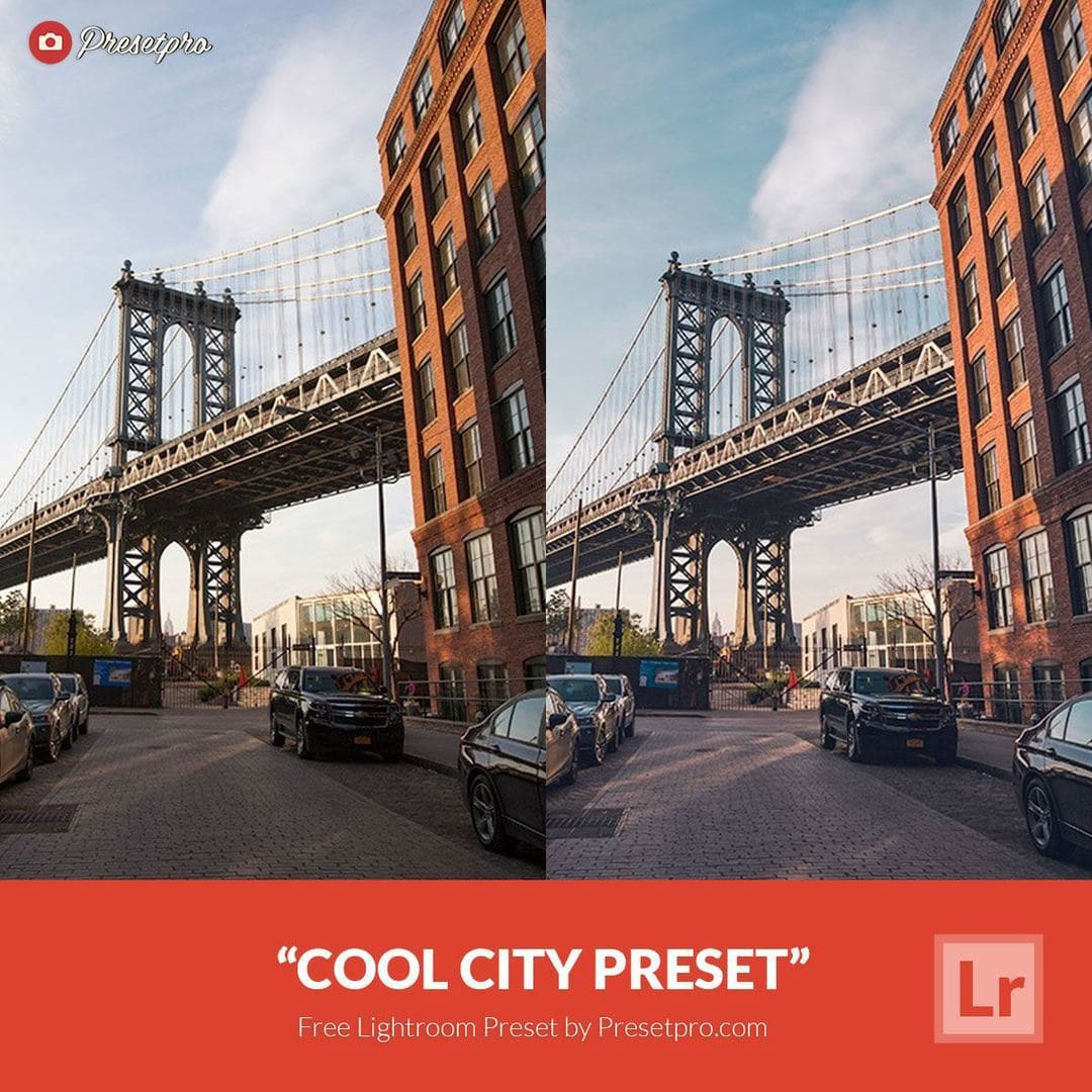 Free Lightroom Preset Cool City - Download Now!