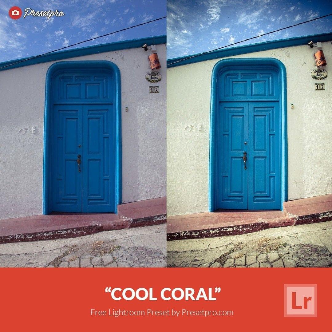 Free Lightroom Preset   Coral Color - Presetpro com
