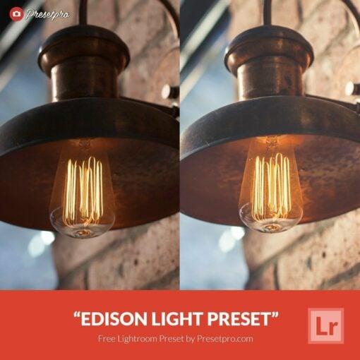 Free-Lightroom-Preset-Edison-Light