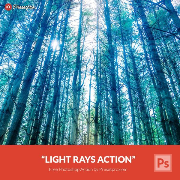 Free-Photoshop-Action-Lightrays