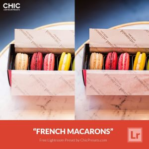 Free Lightroom Presets French Macarons