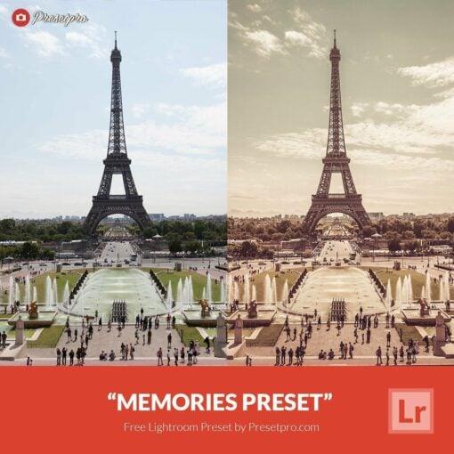 Free-Lightroom-Preset-Memories