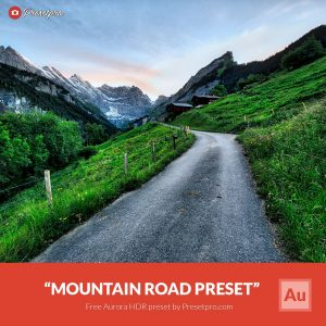 Free-Aurora-HDR-Preset-Mountain-Road