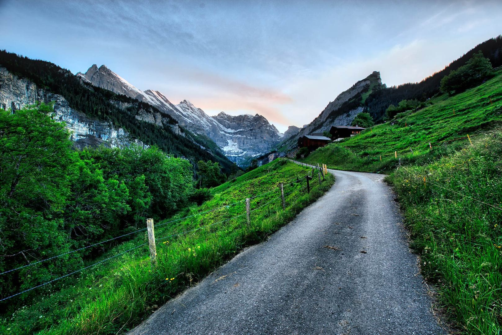 Free-Aurora-HDR-Preset-Mountain-Road-After