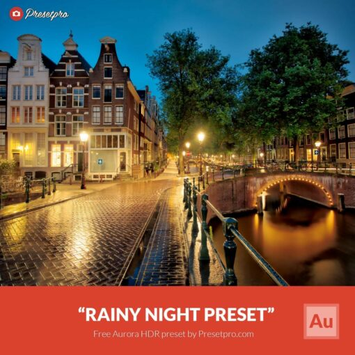 Free-Aurora-HDR-Preset-Rainy-Night