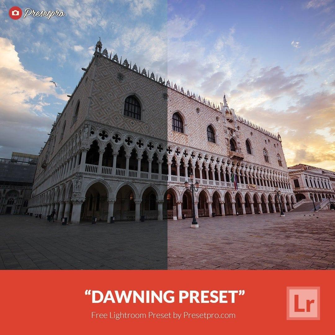 Free Lightroom Preset Dawning - Download Now!