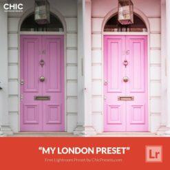 Free Lightroom Preset My London