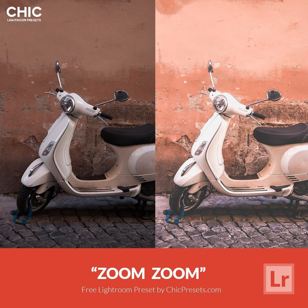 Free Lightroom Preset Zoom Zoom