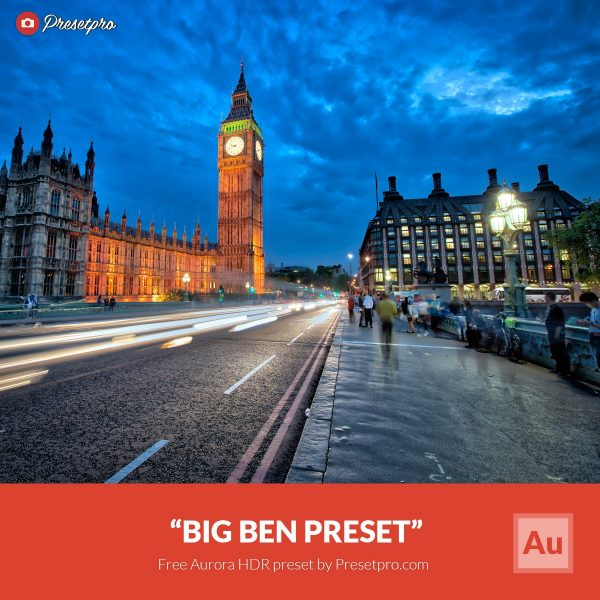 Free-Aurora-HDR-Preset-Big-Ben