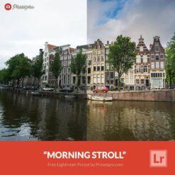 Free-Lightroom-Preset-Morning-Stroll