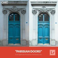 Free-Lightroom-Preset-Parisian-Doors
