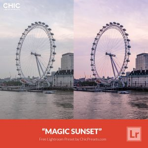 free-lightroom-preset-magic-sunset
