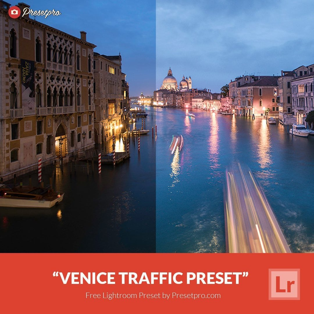 Free Lightroom Preset | Venice Traffic - Presetpro com