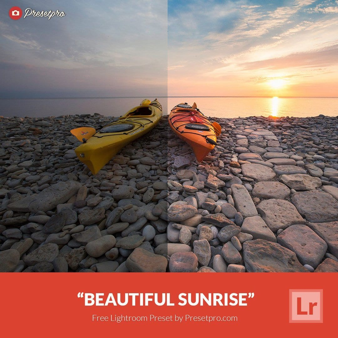 Free Lightroom Preset Beautiful Sunrise - Download Now!
