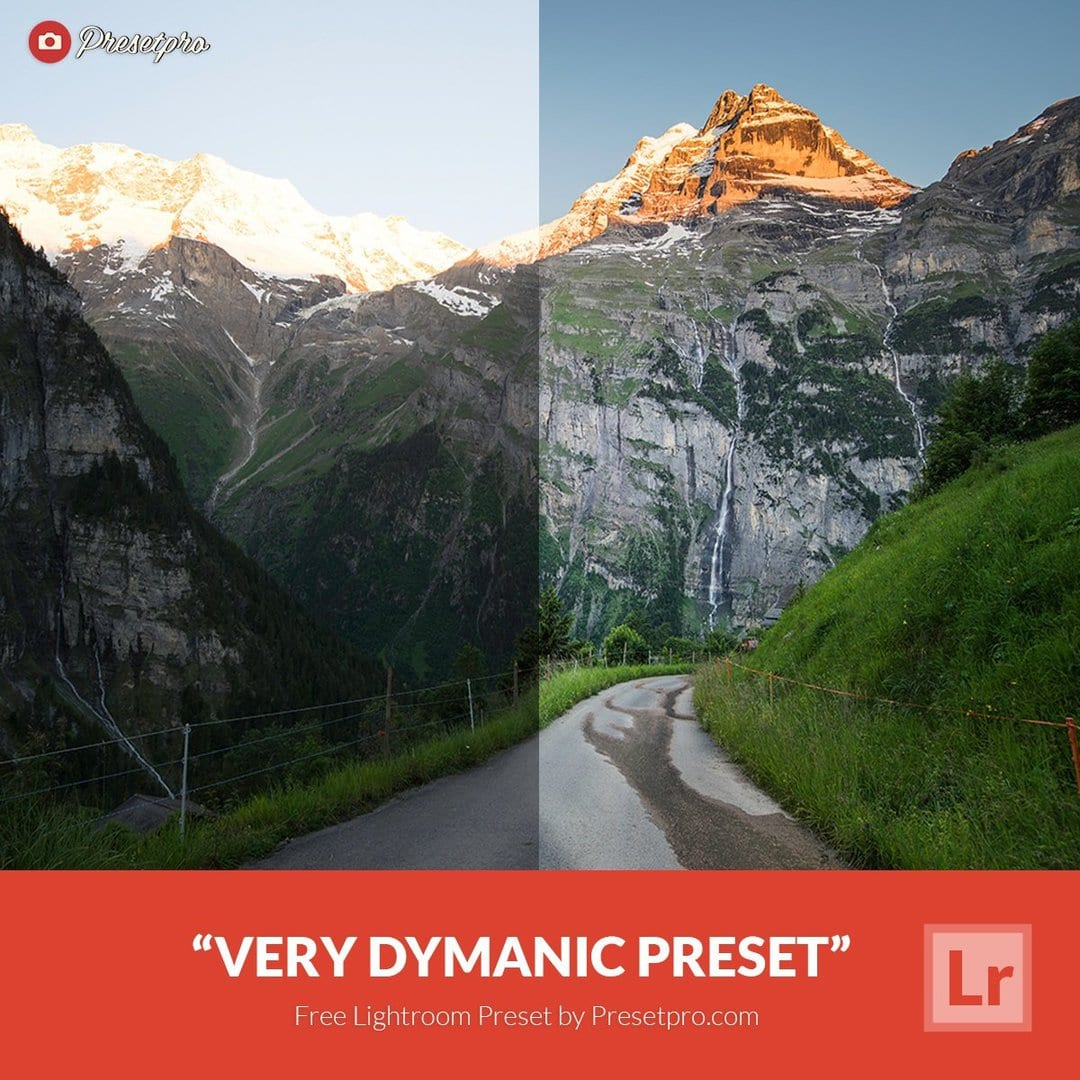free lightroom preset very dynamic download now