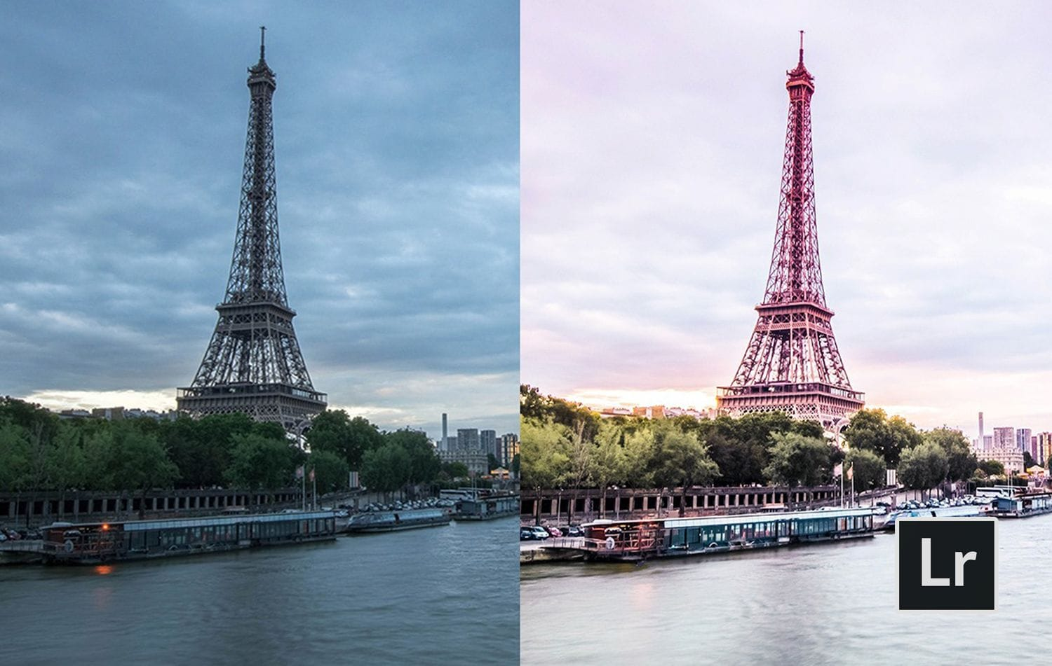Free-Lightroom-Preset-Over-The-Seine-Before-and-After-ChicPresets.com