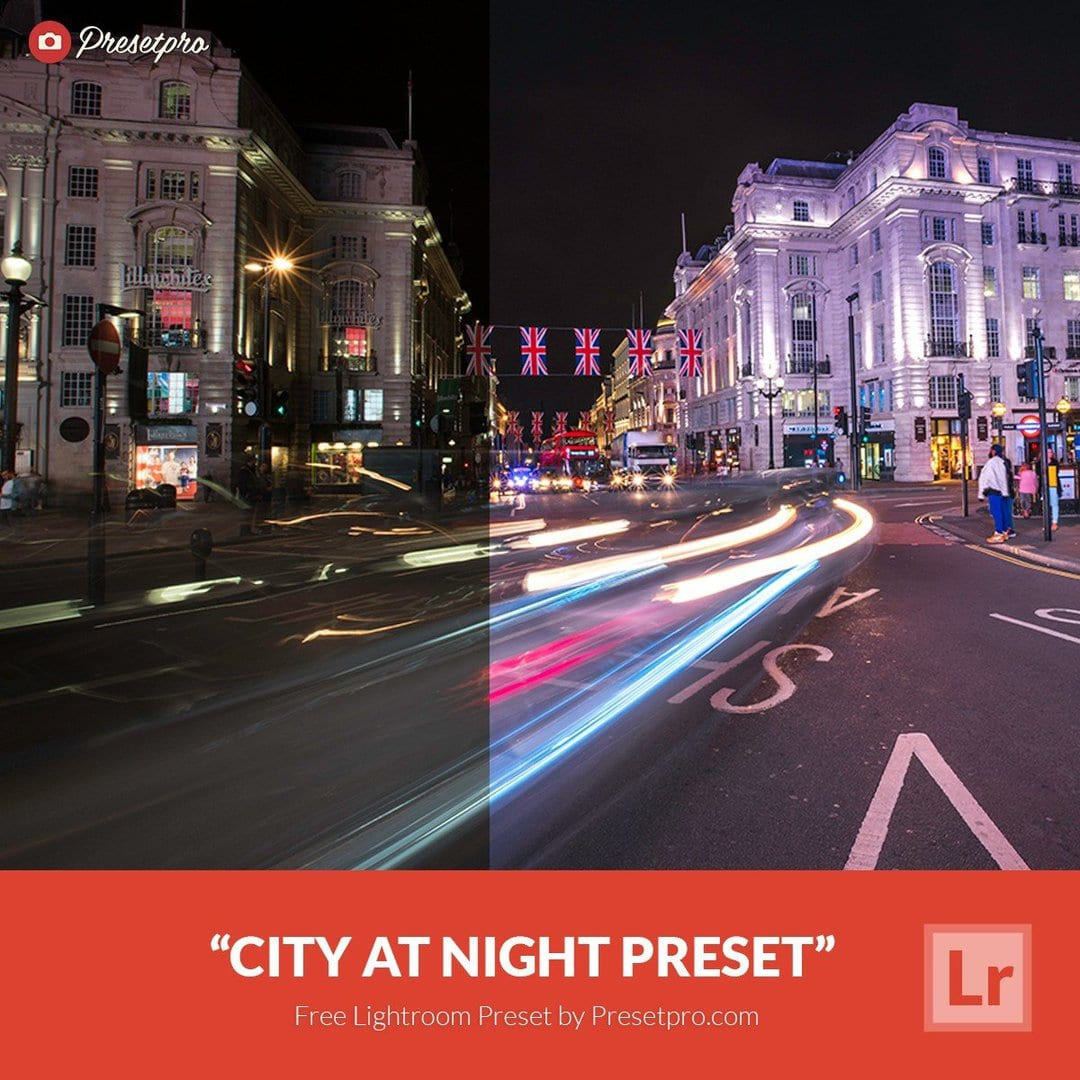 Free Lightroom Preset City at Night - Download Now!