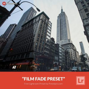 Free-Lightroom-Preset-Film-Fade