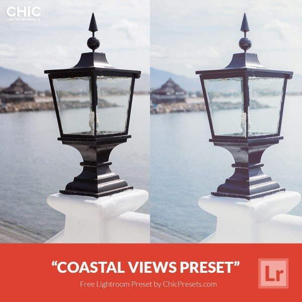 Free Lightroom Preset Coastal Views