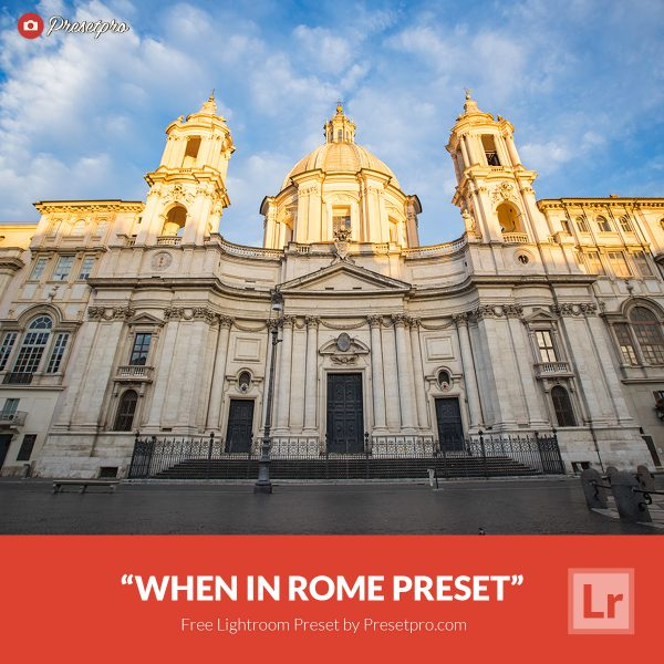 Free-Lightroom-Preset-When-In-Rome-Presetpro