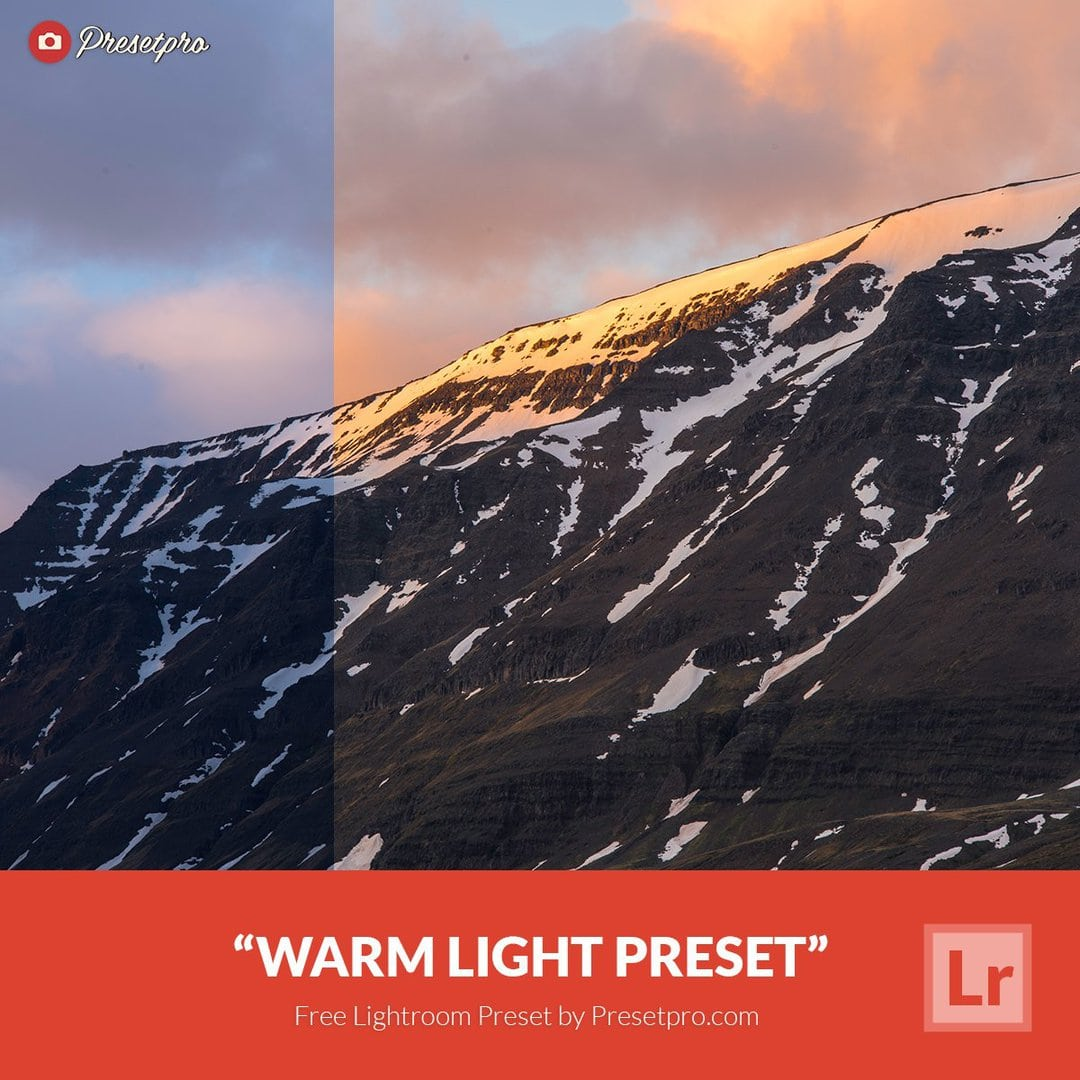 Free Lightroom Preset | Warm Light - Presetpro com