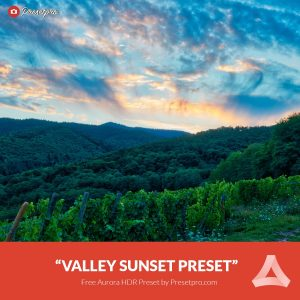 Free-Aurora-HDR-Preset-Valley-Sunset-Presetpro