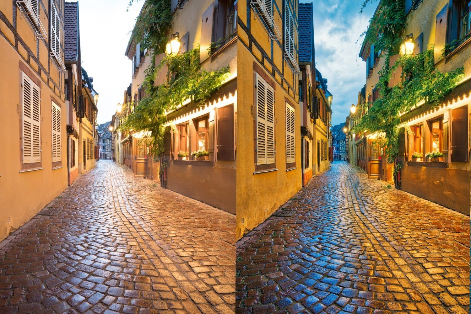 Free-Aurora-HDR-Preset-Vibrant-Cobble-Presetpro Before and After