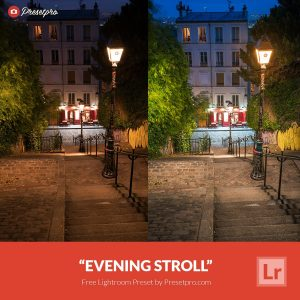 Free-Lightroom-Preset-Evening-Stroll-Presetpro