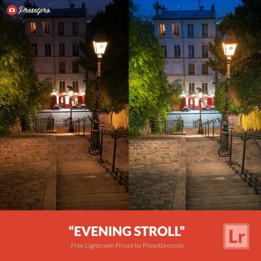 Free-Lightroom-Preset-Evening-Stroll-Presetpro