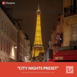 Free-Lightroom-Preset-City-Nights