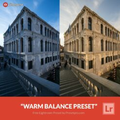 "Free Lightroom Preset ""Warm Balance"""