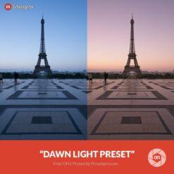Free On1 Preset Dawn Light Presetpro.com