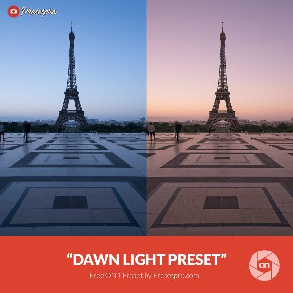 Free On1 Preset Dawn Light Presetpro.com