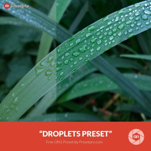 """Free On1 Preset """"Droplets"""""""